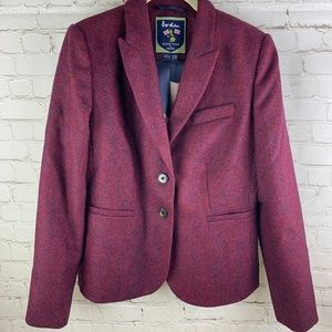Boden British Tweed by Moon Elizabeth Blazer W551